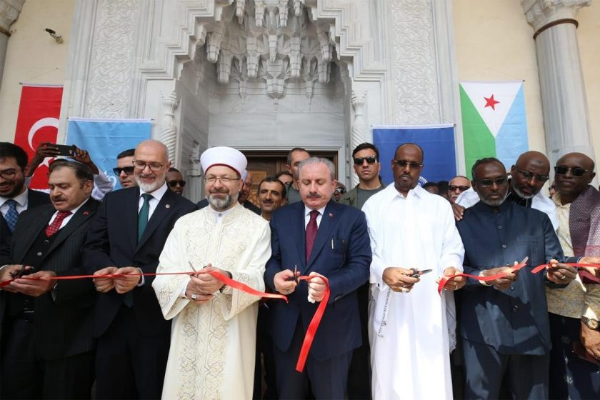 Cibuti'de 2. Abdülhamid Han Camisi ve Külliyesi açıldı